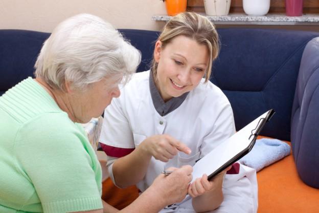 Pflegestufe beantragen